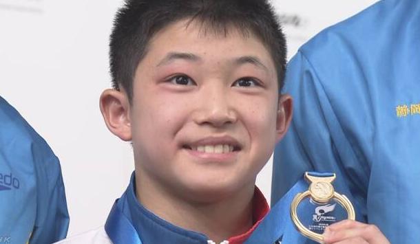 玉井陸斗選手(飛び込み)の筋肉美がヤバイ