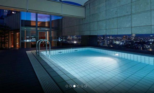 グランドハイアット東京のプール付きスイートルーム3