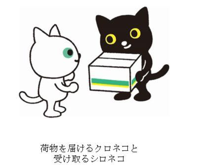 クロネコヤマトの新キャラクターが平凡2