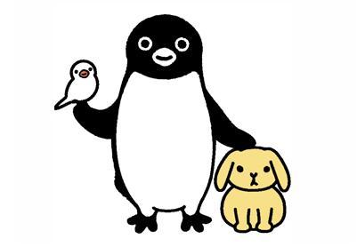 坂崎千春作品、JR東日本、Suicaのペンギン