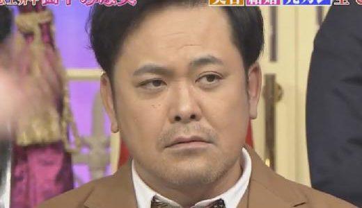しゃべくり007の有田哲平の無精ひげ1