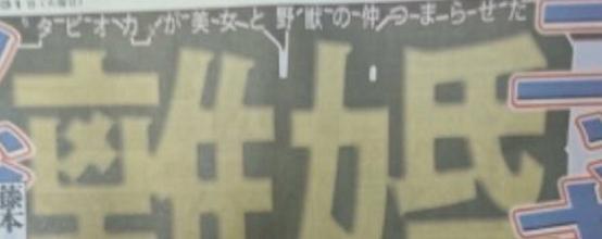 木下優樹菜と藤本敏史のタピオカ離婚