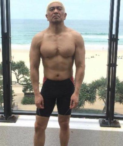 松本人志の筋肉バランスは悪い?下半身は意外と普通