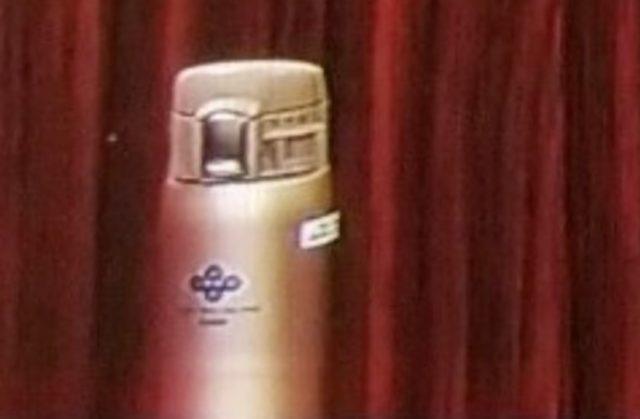 吉村洋文知事の水筒、ピンクベージュ(ゴールド)はどこのメーカー?