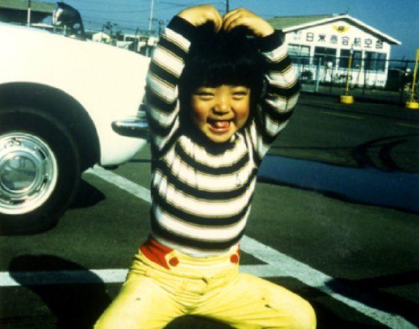 河井案里の幼少期、4歳の画像