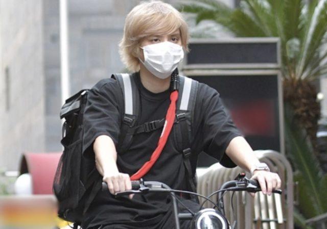 手越祐也の自転車メーカーはどこので値段は?弁当配達姿がジワる!