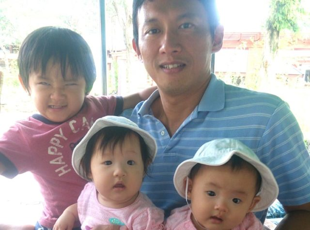 【画像】小野泰輔の子供、長男と双子の娘の名前は?