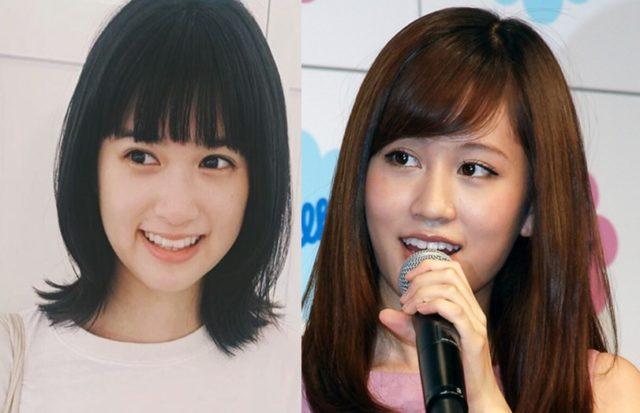 小西桜子と前田敦子が似てる!目線ずらし