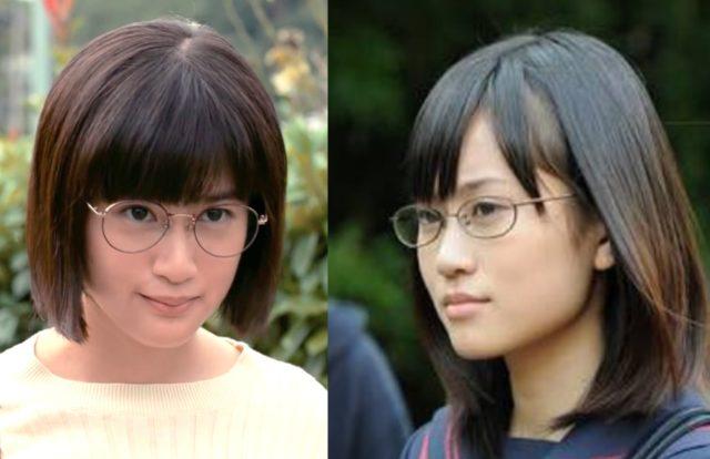 小西桜子と前田敦子が似てる!メガネ姿