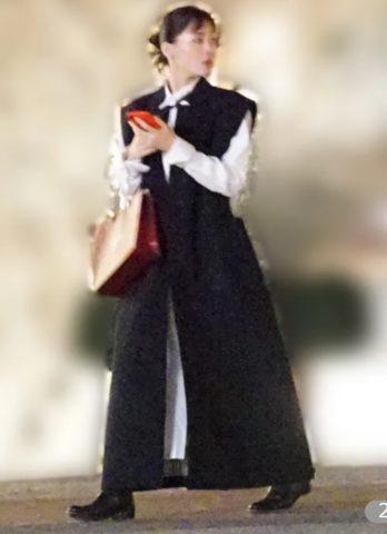 綾瀬はるかのノ・ミヌとデート服のブランドは?値段に驚愕!将軍風ベストワンピース?黒いチマチョゴリ?
