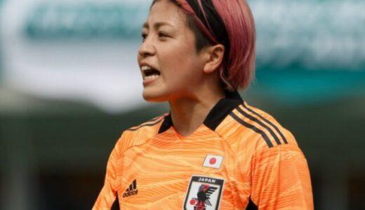 なでしこキーパーピンク頭の池田咲紀子に下手の声!?プレー動画や感想!